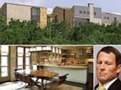 the perfect place to lie low: disgraced cyclist lance armstrong buys $4.3million hill-top 'fortress' in texas (and it even has its own rope bridge to make a quick escape)